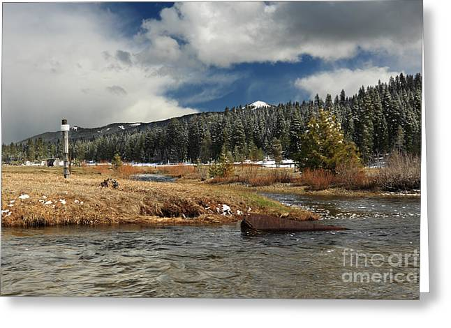Deer Creek Greeting Cards - Deer Creek Meadows Greeting Card by James Eddy
