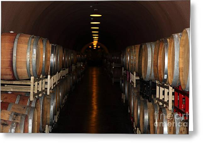 Deerfield Ranch Winery 5D22218 Greeting Card by Wingsdomain Art and Photography