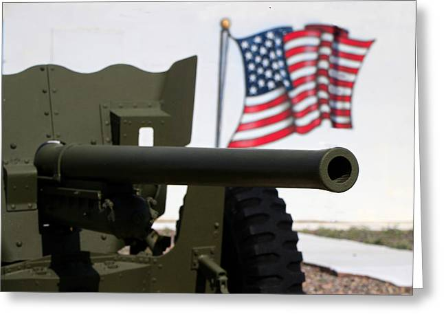 Vfw Greeting Cards - Defender 2 Greeting Card by Robert Bascelli