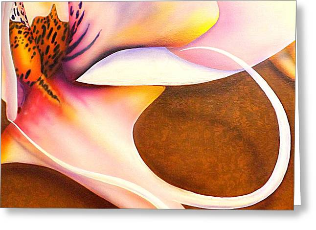 Defined Fine Lines Greeting Card by Darren Robinson