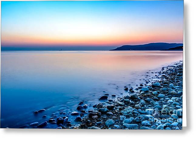People Digital Greeting Cards - Deganwy North Wales Greeting Card by Adrian Evans
