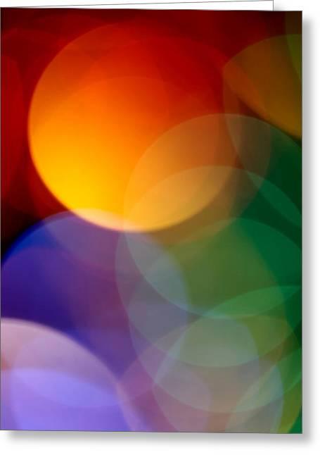 Modernism Greeting Cards - Deja Vu 1 Greeting Card by Dazzle Zazz
