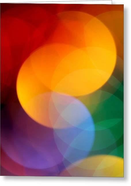 Modernism Greeting Cards - Deja Vu 2 Greeting Card by Dazzle Zazz