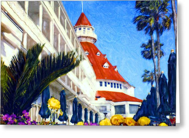 Recently Sold -  - Dream Scape Greeting Cards - Del Dreams Greeting Card by Glenn McNary
