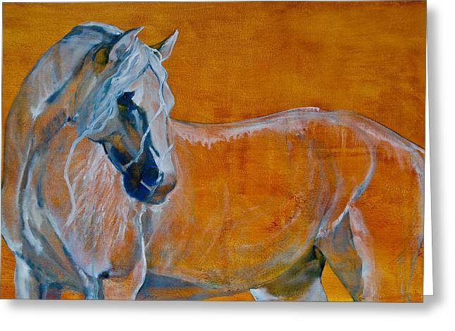 Horse Images Greeting Cards - Del Sol Greeting Card by Jani Freimann