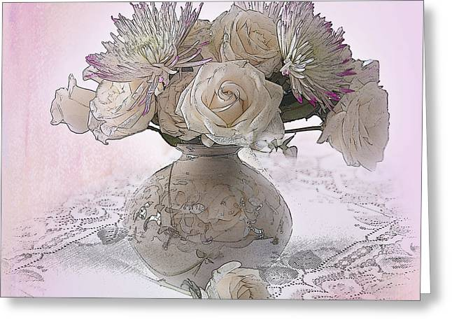 Floral Photographs Digital Greeting Cards - Delicacy Greeting Card by Betty LaRue