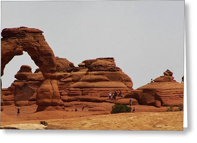 Delicate Arch Bryce Canyon Greeting Card by Bruce Bley