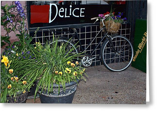 Deli Greeting Cards - Delice Greeting Card by Nikolyn McDonald