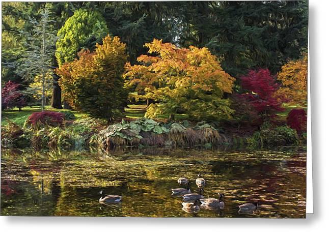 Jordan Trail Greeting Cards - Delicious Autumn - Autumn Art Greeting Card by Jordan Blackstone