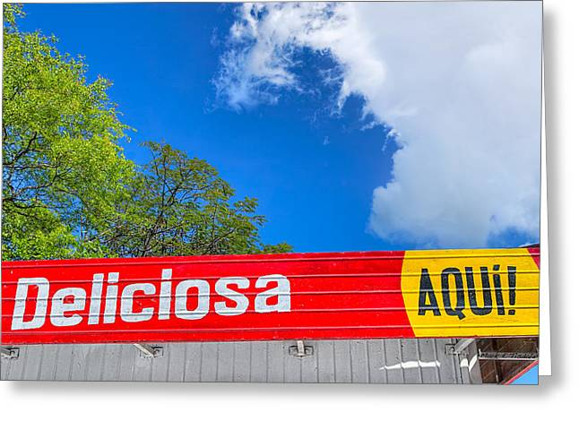 Isla Greeting Cards - Delicious Colors of Latin America - Nicaragua Greeting Card by Mark Tisdale