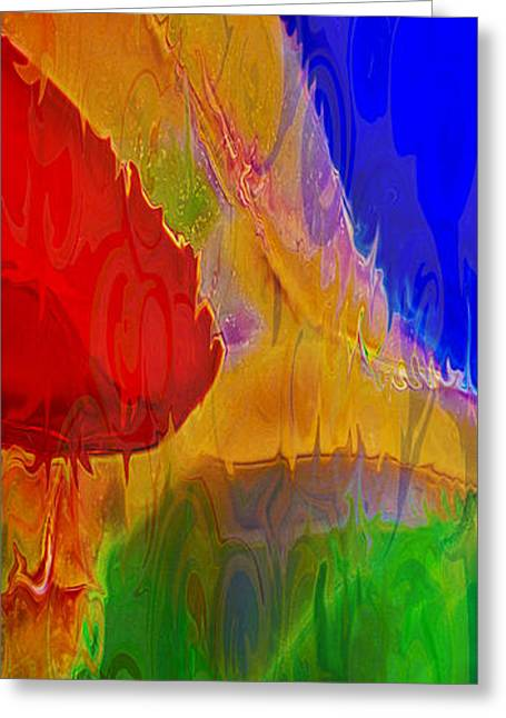 Delicious Colors Greeting Card by Omaste Witkowski