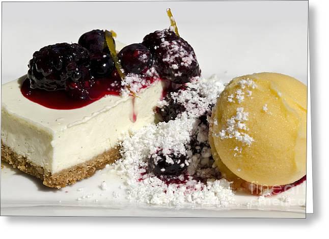 Delicious Dessert Greeting Card by Sheldon Kralstein