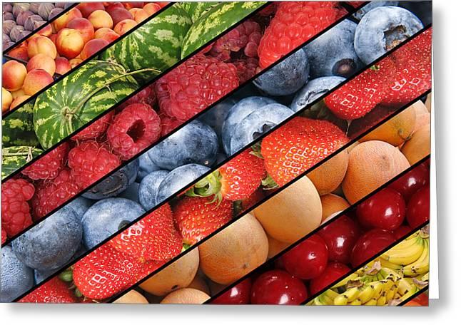 Melon Greeting Cards - Delicious fruit Greeting Card by Jaroslaw Grudzinski