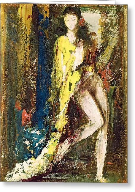 Wife Greeting Cards - Delilah Greeting Card by Gustave Moreau