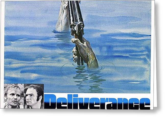 Deliverance Greeting Card by Movie Poster Prints