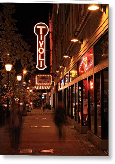 Fame Shop Greeting Cards - Delmar Walk of Fame Greeting Card by Scott Rackers