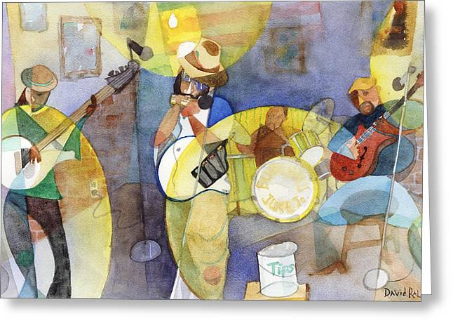 Juke Joint Greeting Cards - Delta Blues Greeting Card by David Ralph