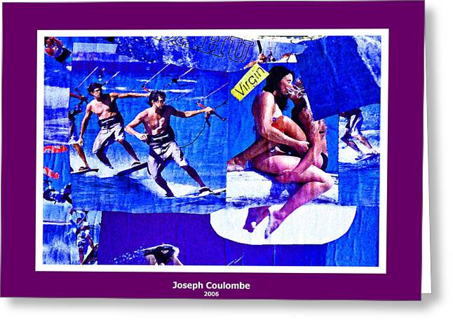 Delta Wind Virgins  Greeting Card by Joseph Coulombe
