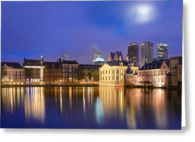 The Nature Center Greeting Cards - Den Haag Greeting Card by Mihai Lefter