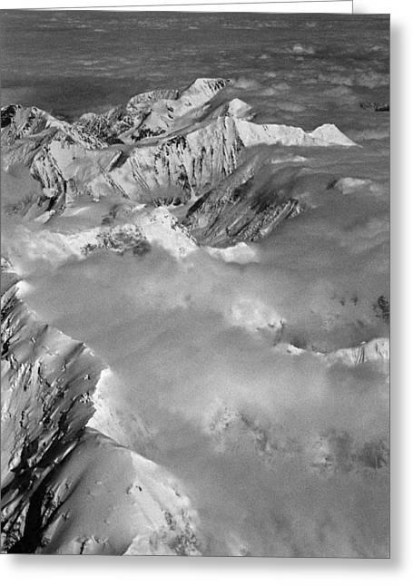 Wolken Greeting Cards - Denali ... Greeting Card by Juergen Weiss