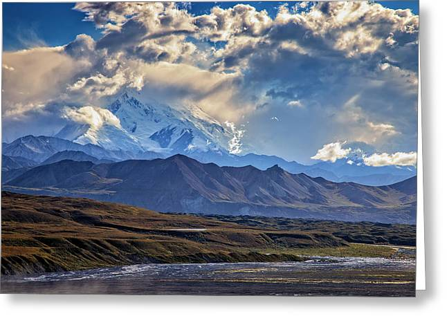 Denali Greeting Cards - Denali Foothills Greeting Card by Rick Berk