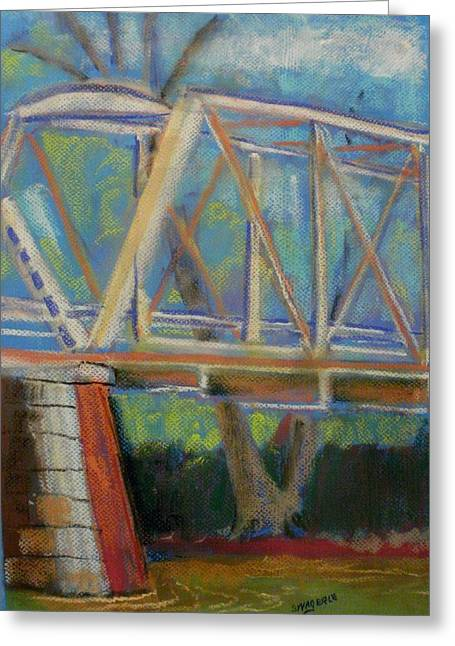 Iron Pastels Greeting Cards - Dennison  Greeting Card by Tim  Swagerle