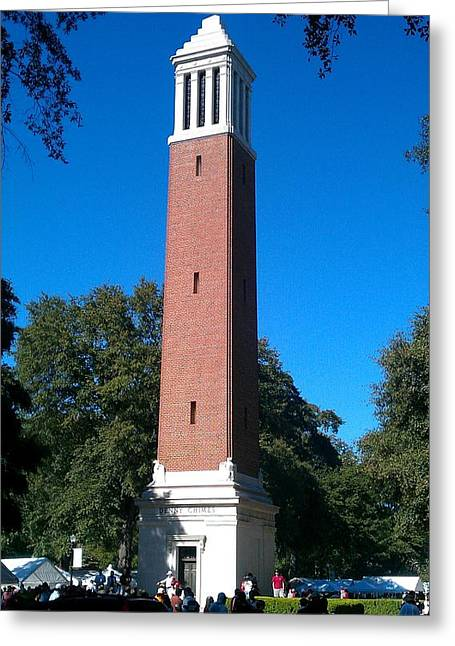 Denny Chimes Greeting Card by Kenny Glover