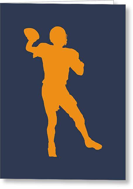 Broncos Greeting Cards - Denver Broncos Peyton Manning Greeting Card by Joe Hamilton