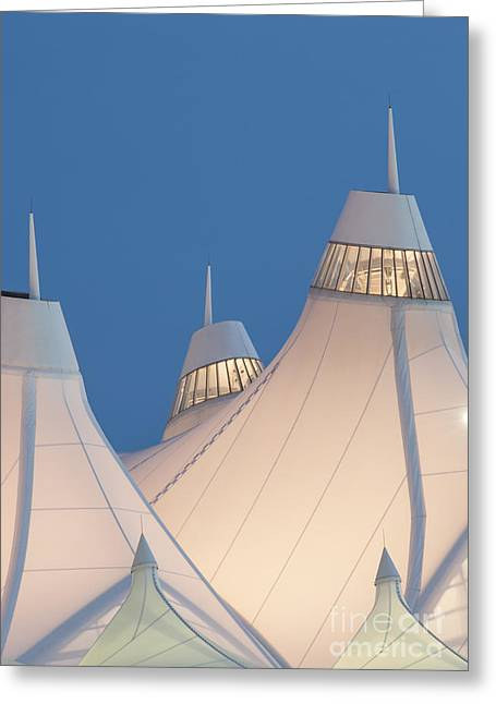 Airports Greeting Cards - Denver International Airport Greeting Card by Juli Scalzi