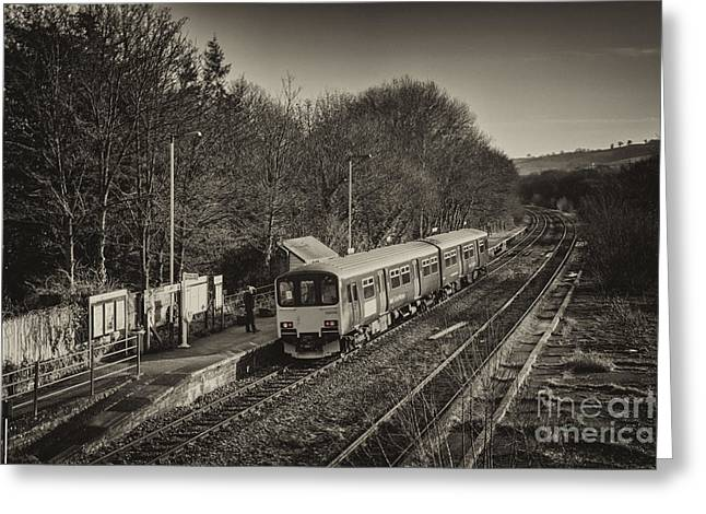 Southern Class Greeting Cards - Departing Yeoford  Greeting Card by Rob Hawkins