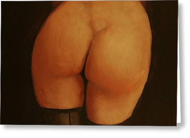 Derriere Greeting Card by John Silver
