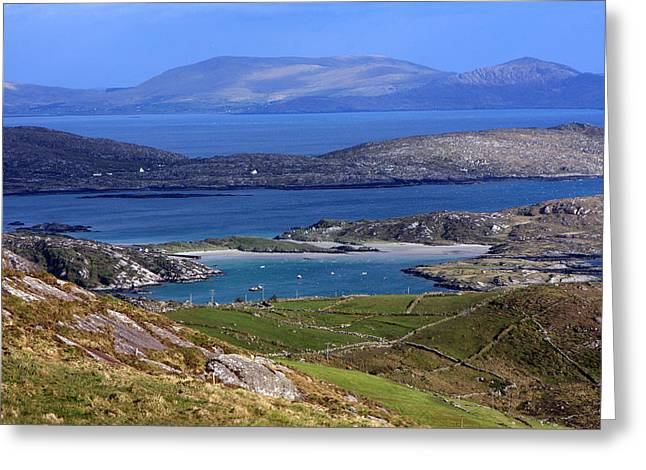 Scenic Drive Greeting Cards - Derrynane Bay County Kerry Ireland Greeting Card by Aidan Moran