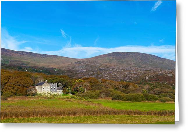 Daniel Photography Greeting Cards - Derrynane House The Home Of Daniel Greeting Card by Panoramic Images
