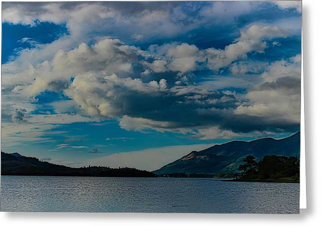 Cumbria Greeting Cards - Derwent Water Greeting Card by Martin Newman