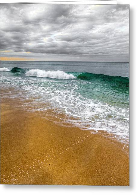 Sand Greeting Cards - Desaturation Greeting Card by Chad Dutson