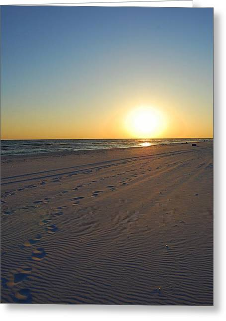 Panama City Beach Greeting Cards - Desert Beach Greeting Card by May Photography