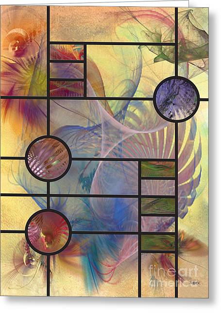 Robert R Greeting Cards - Desert Blossoms Greeting Card by John Robert Beck
