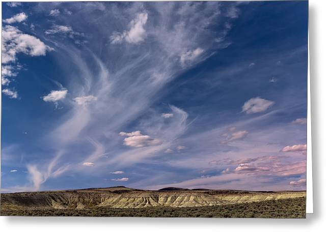 Washoe County Greeting Cards - Desert Clouds Greeting Card by Kathleen Bishop