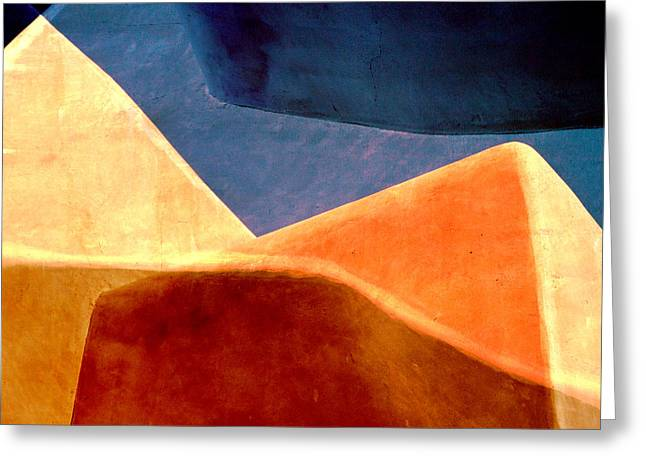 Santa Fe Greeting Cards - Desert Dunes Number 2 Greeting Card by Carol Leigh