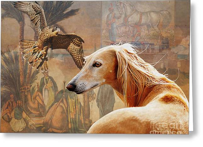 Desert Heritage Greeting Card by Judy Wood