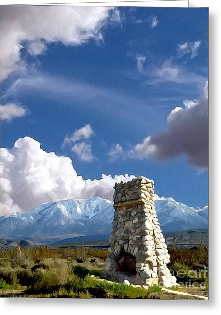 Llano Greeting Cards - Desert Host Impressions Greeting Card by Glenn McCarthy Art and Photography
