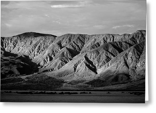 Locations Greeting Cards - Desert Light Greeting Card by Peter Tellone