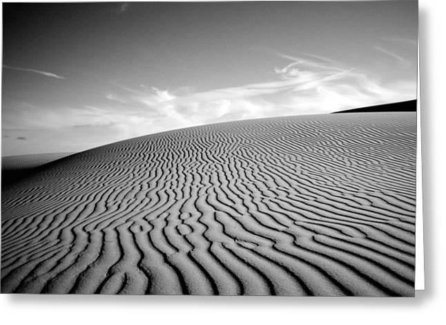 California Beach Greeting Cards - Desert Lines Greeting Card by Aron Kearney Fine Art Photography