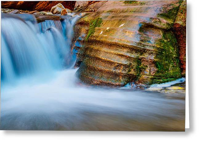 Beautiful Creek Photographs Greeting Cards - Desert Oasis Greeting Card by Chad Dutson