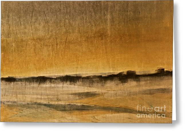 Desert Scene  Greeting Card by Deborah Talbot - Kostisin