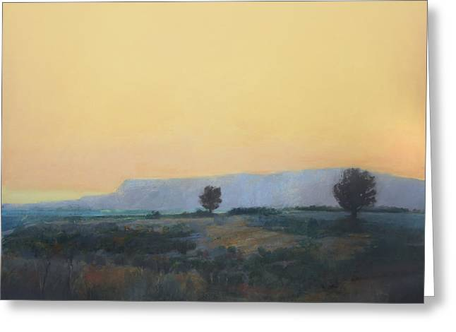 Desert Sunset 2 Greeting Card by Cap Pannell