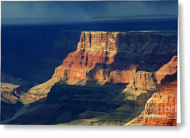 Canadian Photographer Greeting Cards - Desert View Grand Canyon 2 Greeting Card by Bob Christopher