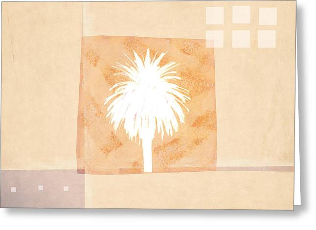Desert Southwest Greeting Cards - Desert Windows Greeting Card by Carol Leigh