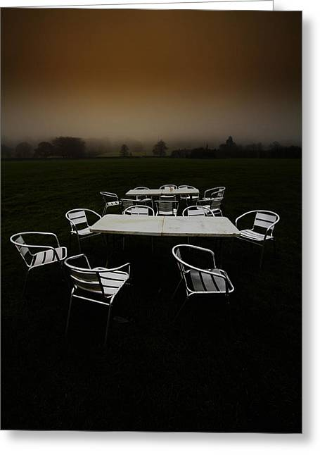 ...deserted Dessert.. Greeting Card by Russell Styles