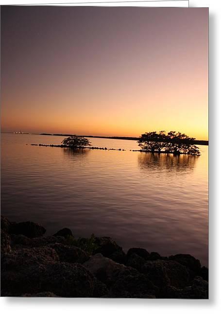 Deserted Island Greeting Card by AR Annahita